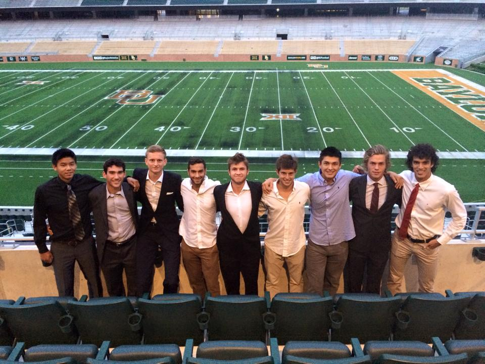 WF Team at Baylor Stadium