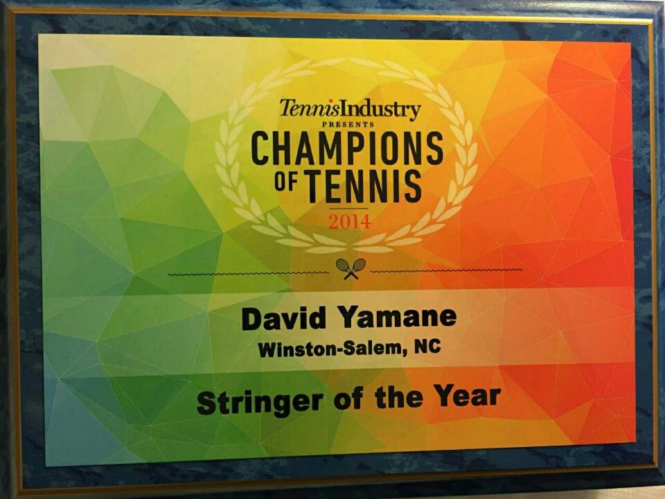 Stringer of the Year Plaque